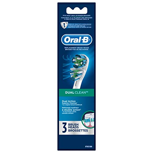 Oral-B DualAction Premium Power Toothbrush 3 Head Refill