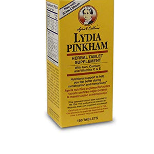 Lydia Pinkham Herbal Supplement Tablets - 150 ea