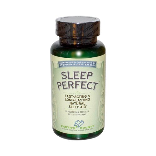 Earth's Bounty - Sleep Perfect - 60 Vegetarian Capsules
