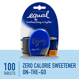 Equal 0 Calorie Artificial Sweetener Tablets - 100 ea