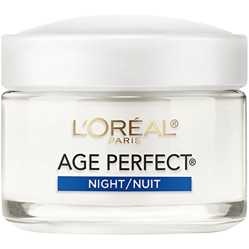 L'Oreal Age Perfect For Mature Skin Night Formula Skin Cream - 2.5 oz