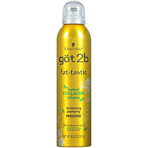 Got2b Fat-Tastic Thickening Plumping Mousse Hair - 8.5 oz
