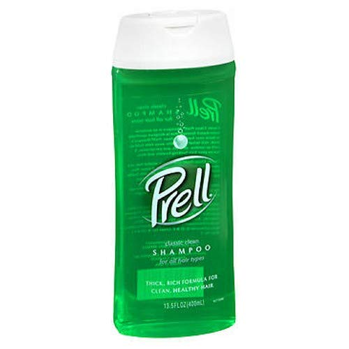 Prell Classic Rinse Clean Shampoo For All Hair Types - 13.5 oz