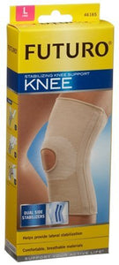 Futuro Stabilizing Knee Support, Dual Side Stabilizers Large - 1 ea.