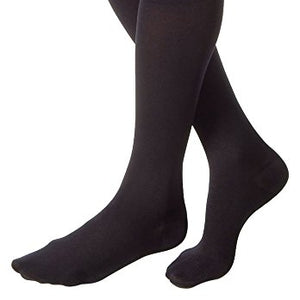 Jobst relief medical leg wear Knee length support stockings 30-40 mm/hg black, large closed toe, model : 114738 - 1 ea