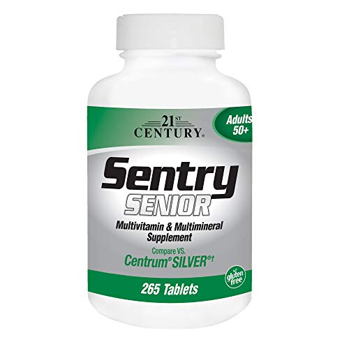 21st Century Sentry Senior Tablets - 265 ea