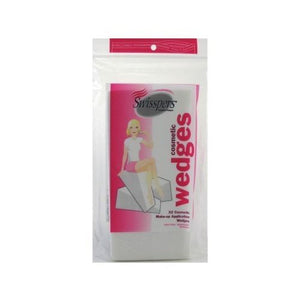 Swisspers Cosmetics Disposable Wedges, Latex-Free - 32 Each.