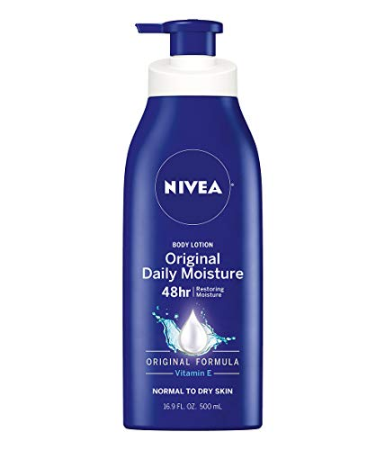 Nivea Original Moisture Body Lotion for Normal to Dry Skin - 16.9 oz