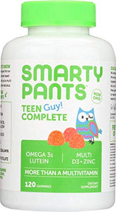 SmartyPants - All-in-One Multivitamin + Omega 3 + Vitamin D For Kids - 120 Gummies.