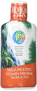 Tropical Oasis - Tropical Plus Mega Multiple Vitamin/Mineral - 32 oz.