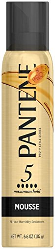 Pantene Pro-V Stylers Mousse Maximum Hold - 6.6 oz