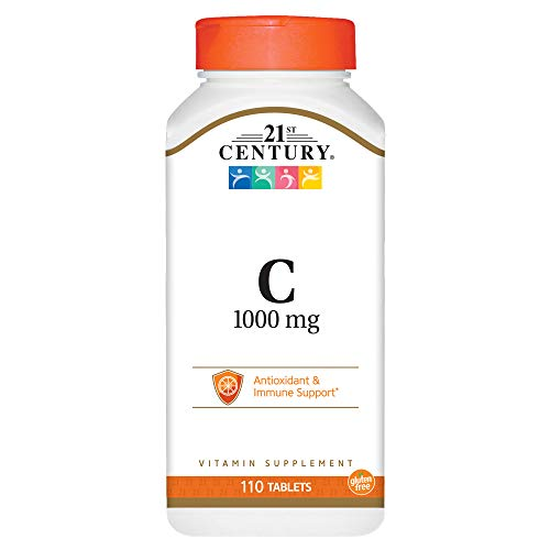 21st Century C 1000 Mg Tablets, Vitamin Supplement - 110 ea
