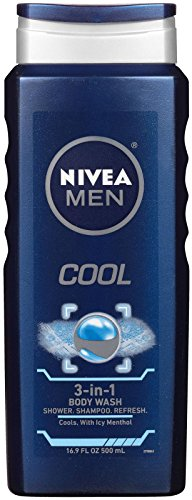 Nivea for Men Body Wash, Cool - 16.9 Oz.