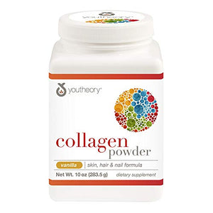Youtheory - Collagen Powder Advanced Formula Vanilla - 10 oz.