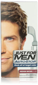 Just For Men AutoStop Hair Color, Medium Brown A 35 - 1 ea.