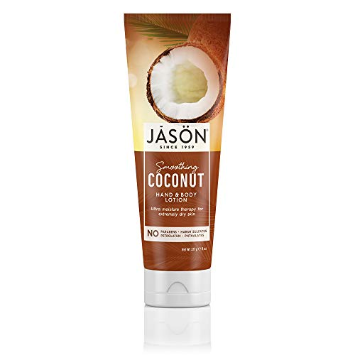 Jason Natural, Hand & Body Lotion, Smoothing Coconut - 8 oz