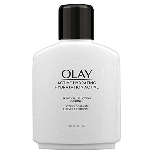Olay Active Hydrating Beauty Fluid, Original - 4 oz