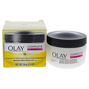 Olay Complete All Day Moisture Cream SPF 15, Normal - 2 oz