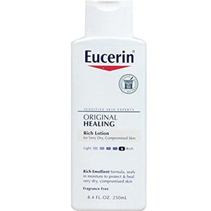 Eucerin Original Moisturizing Lotion For Dry And Sensitive Skin 8.4 Oz.