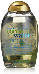 OGX Weightless Hydration Coconut Water, Shampoo - 13 oz
