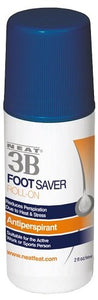 Neat 3B Foot Saver Roll-On, Anti-Perspirant - 2 oz