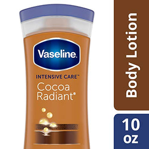 Vaseline Deep Conditioning Body Lotion Unisex, Cocoa Butter - 10 oz