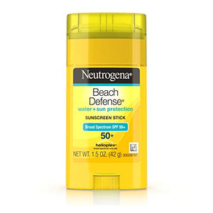 Neutrogena Sunscreen Beach Defense Sun barrier Stick SPF 50 - 1.5 oz