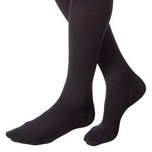 Jobst Medical Legwear Relief Knee High Closed Toe 20-30 mm/Hg Compression, Black, large - 1 ea