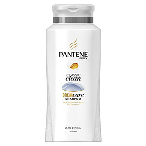 Pantene Pro - v Classic Care Solutions Hair Shampoo - 25.4 OZ