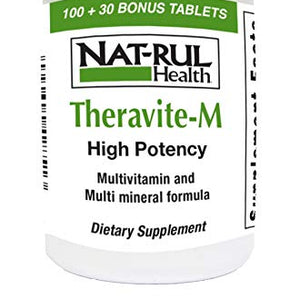 Natrul Health Theravite - M with Beta Carotene Tablets - 130 ea