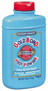 Gold bond medicated foot powder - 4 oz