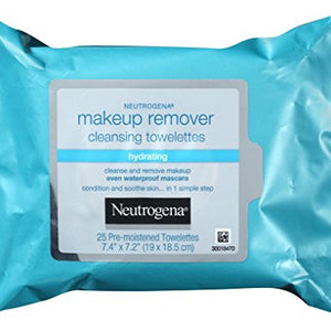 Neutrogena Makeup Remover Cleansing Towelettes- 25 ea