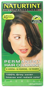 Naturtint - Permanent Hair Colorant 4G Golden Chestnut - 4.5 oz.