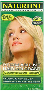 Naturtint 10N Light Dawn Blonde Permanent Hair Colorant - 5.28 Oz.