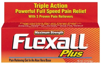 Flexall Plus Maximum Strength Pain Relieving Gel - 4 OZ
