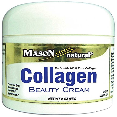 Mason Natural Collagen Beauty Cream Made with 100% Pure Collagen - 2 OZ