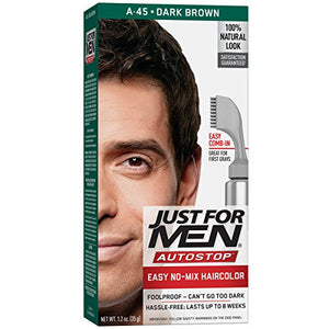 Just For Men AutoStop Hair color Dark Brown A-45 - 1 ea.