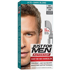 Just For Men AutoStop Hair Color,Dark Blonde / Lightest Brown - 1 ea.