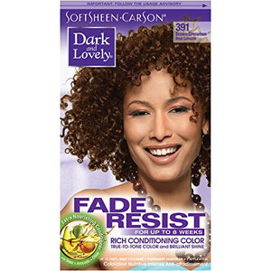 Softsheen Carson Dark and Lovely Permanent Hair Colors, Brown Cinnamon 391 - 1 ea