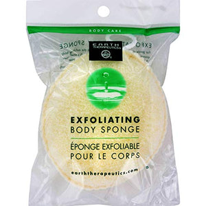 Earth Therapeutics - Exfoliating Body Sponge - 1 unit.