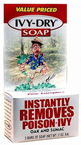 Ivy-Dry Soap, Instantly Removes Poison -Ivy - 2.1 oz