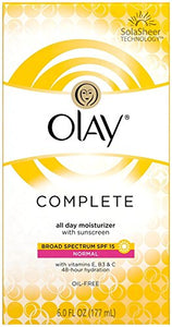 Olay Complete All Day Moisture Lotion, SPF 15, Normal - 6 oz