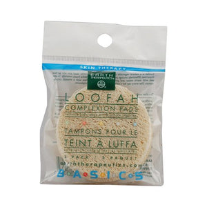 Earth Therapeutics - Loofah Complexion Discs--3 Pack.