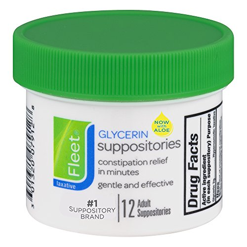 Fleet Glycerin Suppositories - 12 ea