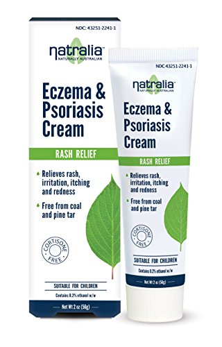Natralia - Eczema and Psoriasis Cream Non Steroidal Natural Homeopathic Alternative - 2 oz.