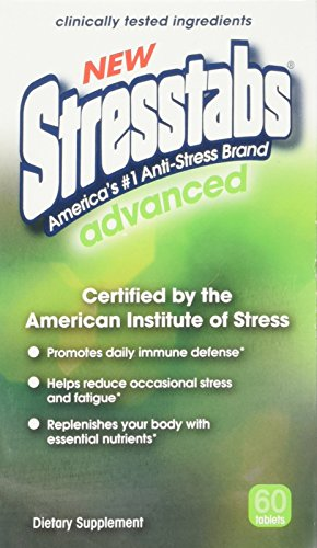 Stresstabs Stress Supplement High Potency  Advanced - 60 tablets