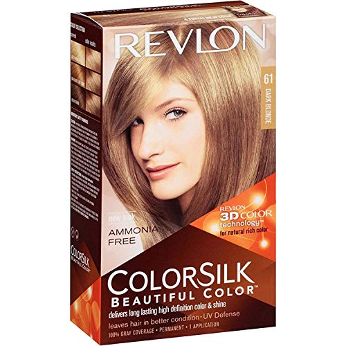 Revlon Beautiful Permanent Hair Color, Dark Blonde 61 - 1 ea.