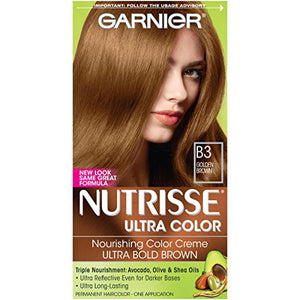 Garnier Nourishing Nutri-Browns Permanent Haircolor  Golden Brown B3 - 1 ea