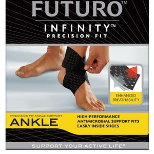 Futuro Infinity Precision Fit Ankle Support, Adjustable - 1 Ea