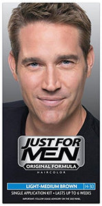 Just For Men Shampoo-In Haircolor, Light-Medium Brown H-30 1 ea.